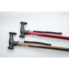Трость телескопическая с ортопедической рукояткой  и устройством против скольжения AMCT23 с УПС