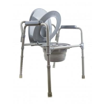 Кресло-туалет со складным ведерком АМСВ 6809