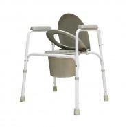 Кресло-туалет, рама из стали