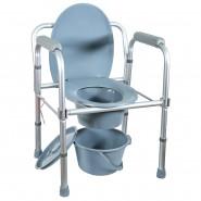 Кресло-туалет, рама из алюминиевого сплава