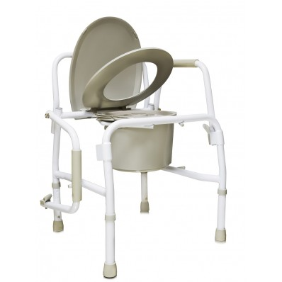 Кресло туалет с опускающимися подлокотниками