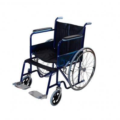 Кресло-коляска из крашеной стали (все шины литые)