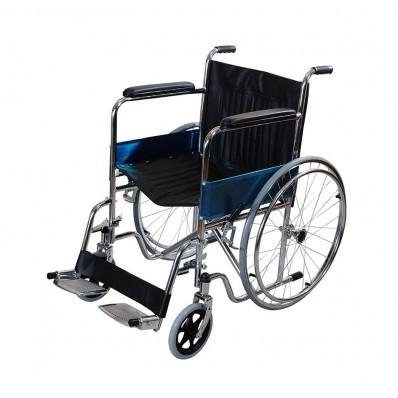 Кресло-коляска со съемными подножками (все шины литые)